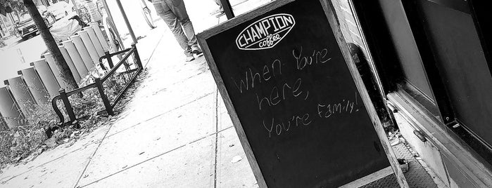 Champion Coffee is one of Greenpoint.