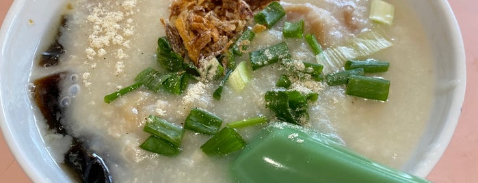 Chai Chee Pork Porridge is one of Favourite Food in SG.