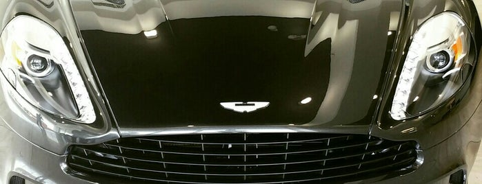 Aston Martin is one of Automobile.