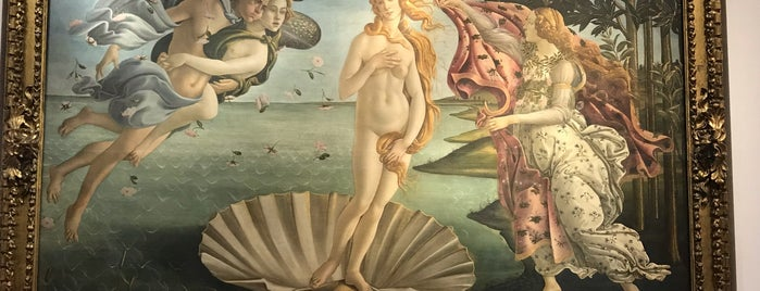 Birth of Venus - Botticelli is one of Orte, die Richard gefallen.
