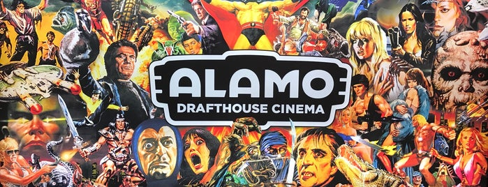Alamo Drafthouse Cinema is one of Andres'in Beğendiği Mekanlar.