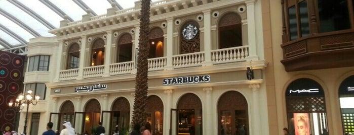 Starbucks is one of GCC Must visit.