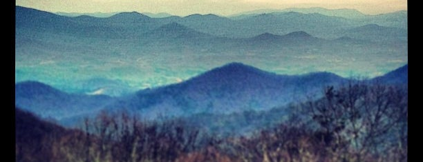 Brasstown Bald is one of State High Points.