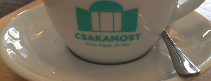 Csakamost is one of Coffee.