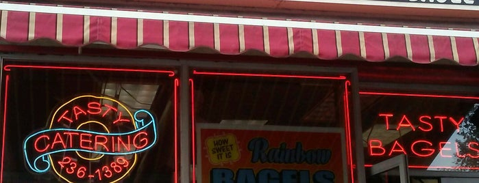 Tasty Bagels is one of NYC's Finest Bagels, Mapped.