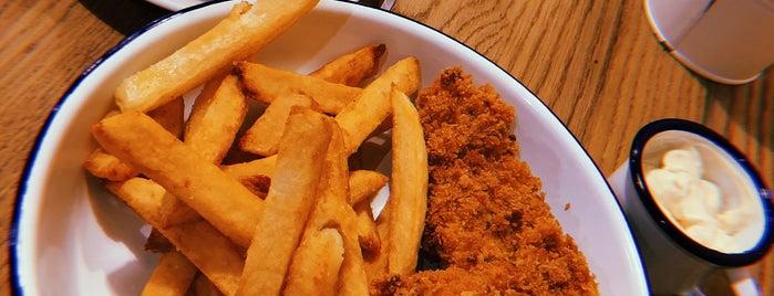 Chickenson's is one of สถานที่ที่บันทึกไว้ของ Juri.