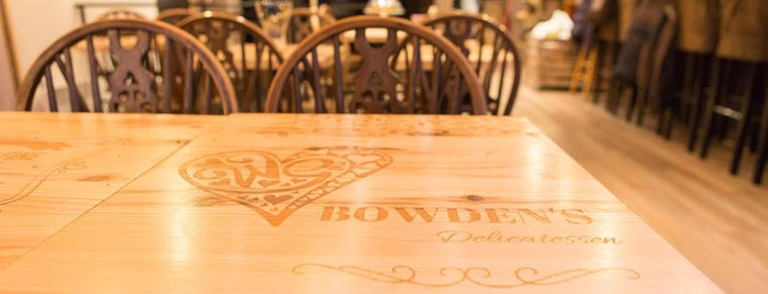 Bowden's - delicatessen is one of Restos 4.