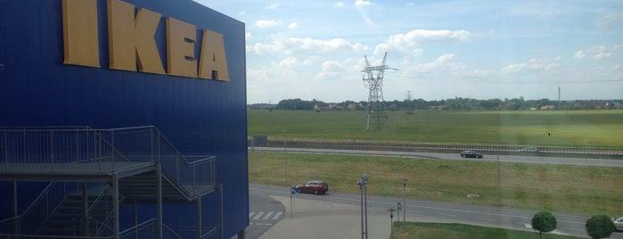 IKEA is one of Lieux qui ont plu à Олег.