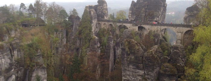Bastei is one of Олегさんのお気に入りスポット.
