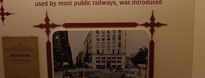 BKV Underground Railway Museum is one of Budapest.
