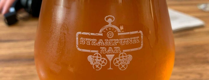 Steampunk Bar is one of Marietta 님이 좋아한 장소.