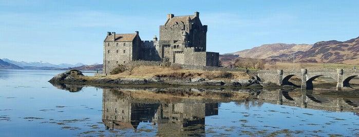 Eilean Donan Castle is one of Europe 16.
