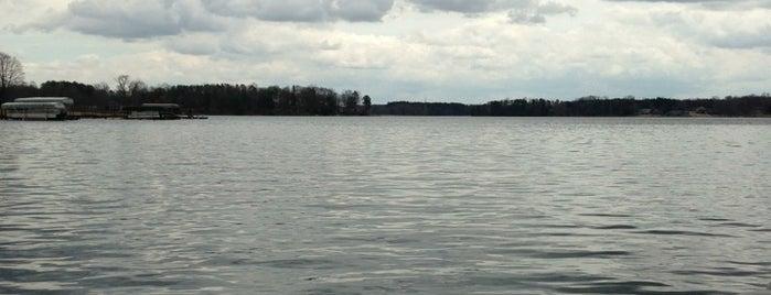 Lake Bowen is one of USA 5.