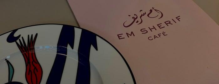 Em Sherif Cafe is one of Beirut.