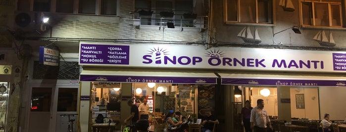 Örnek Mantı is one of Amasra-Sinop-Amasya.