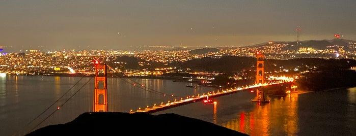 Slacker Ridge is one of San Francisco.