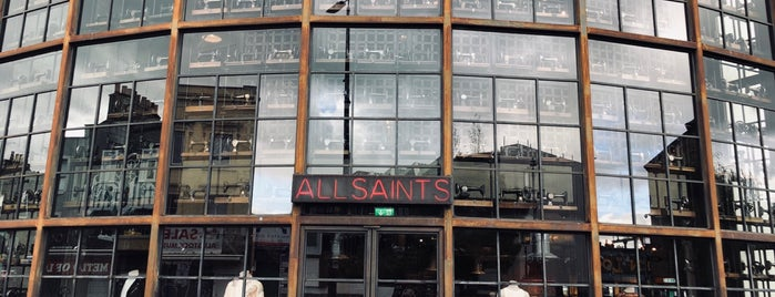 AllSaints is one of The streets of London.