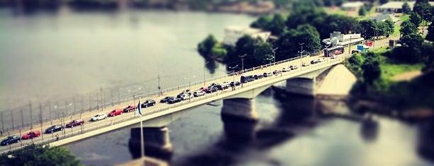 Мост Дружбы / Sõpruse sild is one of Lugares favoritos de Эммануил Виторган.