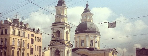 Храм Симеона и Анны is one of Православный Петербург/Orthodox Church in St. Pete.