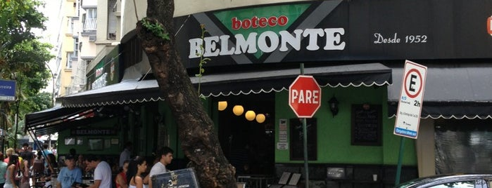 Boteco Belmonte is one of Rj.