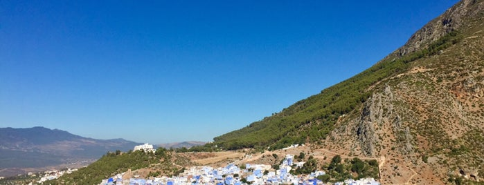 Chefchaouen's View Point is one of شفشاون.