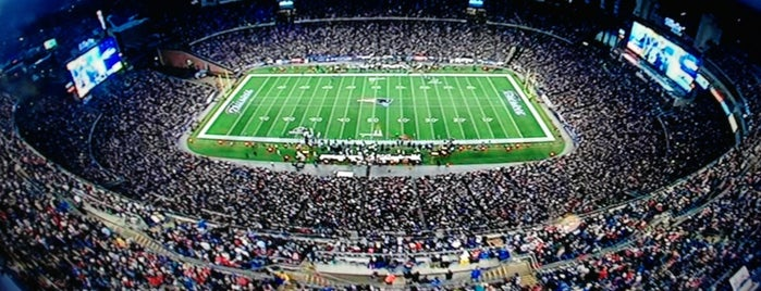 Gillette Stadium is one of NFL Stadiums.