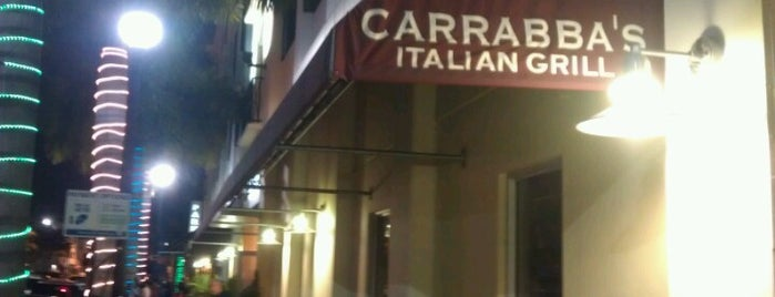 Carrabba's Italian Grill is one of Pavlos list.