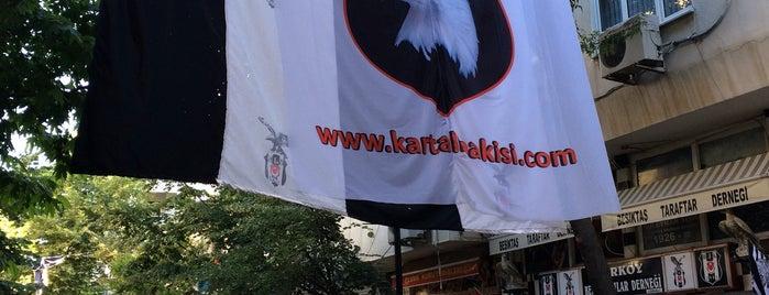 Beşiktaşlılar Derneği is one of Cüneyt'in Kaydettiği Mekanlar.