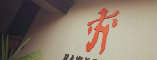 Hawkers Asian Street Fare is one of Dinner spots 2.