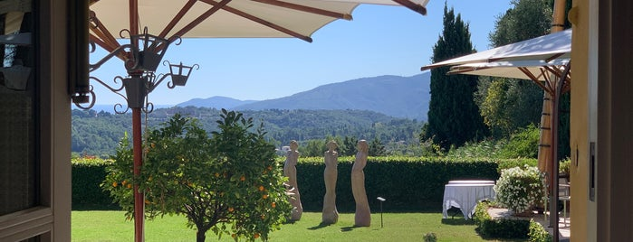 La Bastide Saint-Antoine is one of French Riviera.