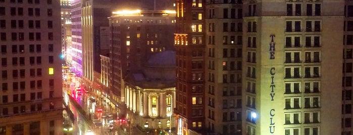 Downtown Cleveland is one of Orte, die Orlando gefallen.