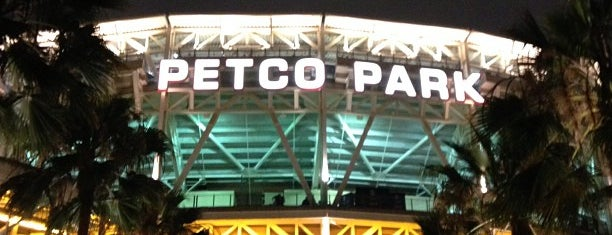 Petco Park is one of Sans.