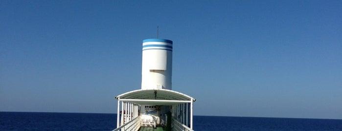 海中展望塔 is one of สถานที่ที่ Sada ถูกใจ.
