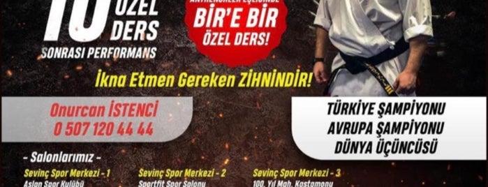 Sevinç Spor Merkezi 3 is one of Yaptıklarım.