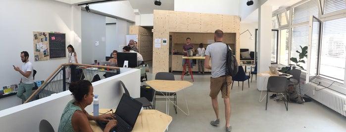 Impact Hub is one of Berlin been3.