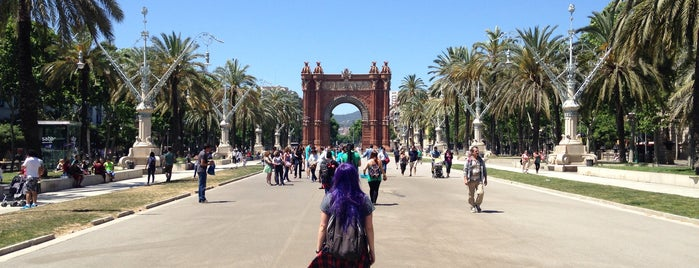Arc De Triunf is one of Barcelona.