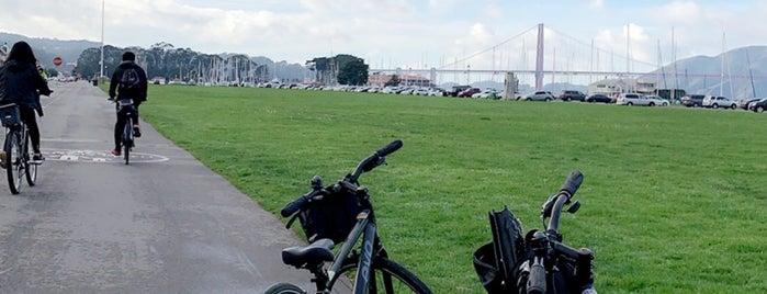 Golden Gate Bridge Bike Rentals is one of Locais curtidos por Cristiano.