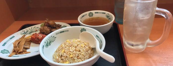 日高屋 田町西口店 is one of Lugares favoritos de キヨ.