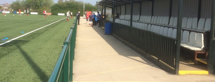 Yaxley Football Club is one of Orte, die Carl gefallen.