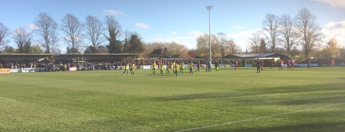 Hitchin Town Football Club is one of Carlさんのお気に入りスポット.