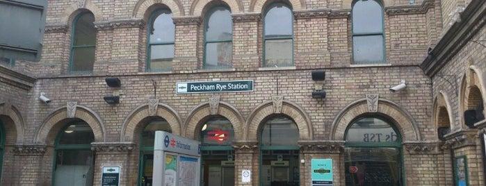 Peckham Rye Railway Station (PMR) is one of สถานที่ที่ Tim ถูกใจ.