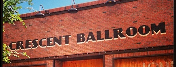 Crescent Ballroom is one of Phoenix places.