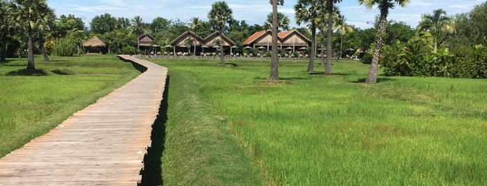 PhumBaitang resort is one of Siem Reap.
