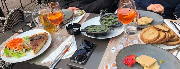 Le Stam is one of Strazburg-Nice-Marsilya.