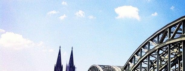 ホーエンツォレルン橋 is one of Rheinbrücken in Köln.
