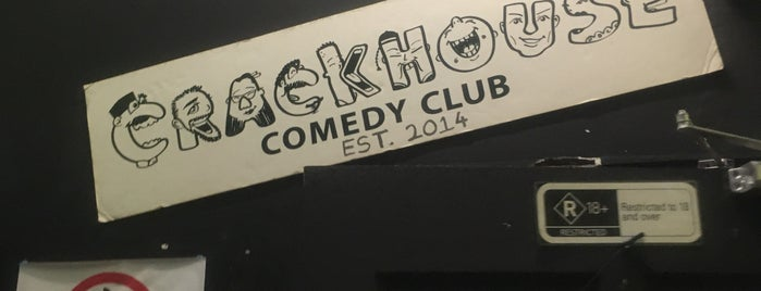 Crackhouse Comedy Club is one of Orte, die Rahmat gefallen.
