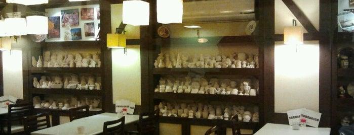 IL Pennello Ceramic Café is one of Egypt Best Cafés.