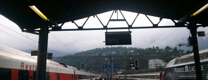 Gare de Brig is one of Follow the Orient Express — Şark Ekspresi.