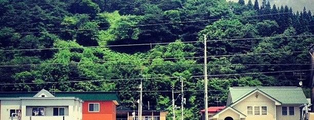 早口駅 is one of JR 키타토호쿠지방역 (JR 北東北地方の駅).
