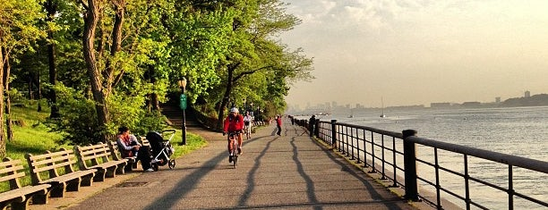Riverside Park is one of nyc running.